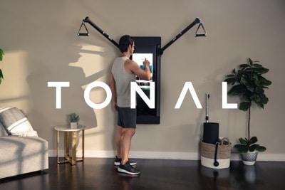 a man uses his Tonal