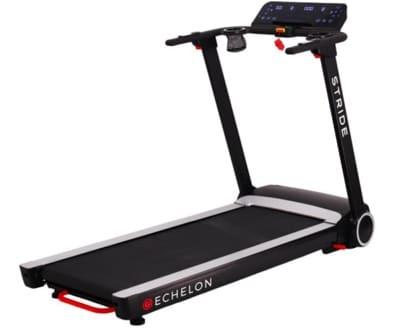 a side profile picture of the Echelon Stride Treadmill